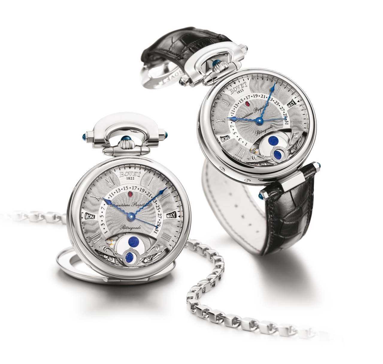 Bovet Watch   Amadeo Fleurier Complications   Ref. Nr. AQPR014    Call 312-944-3100  | For Availability