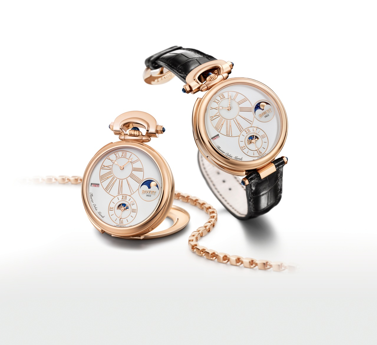 Bovet Watch   Amadeo Fleurier Complications   Ref. Nr. AFOMP003    Call 312-944-3100  | For Availability