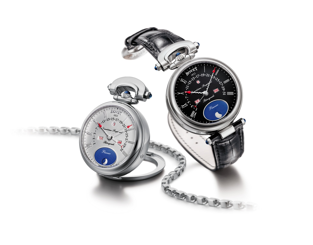 Bovet Watch   Amadeo Fleurier Complications   Ref. Nr.  AQPR006/AQP    Call 312-944-3100  | For Availability