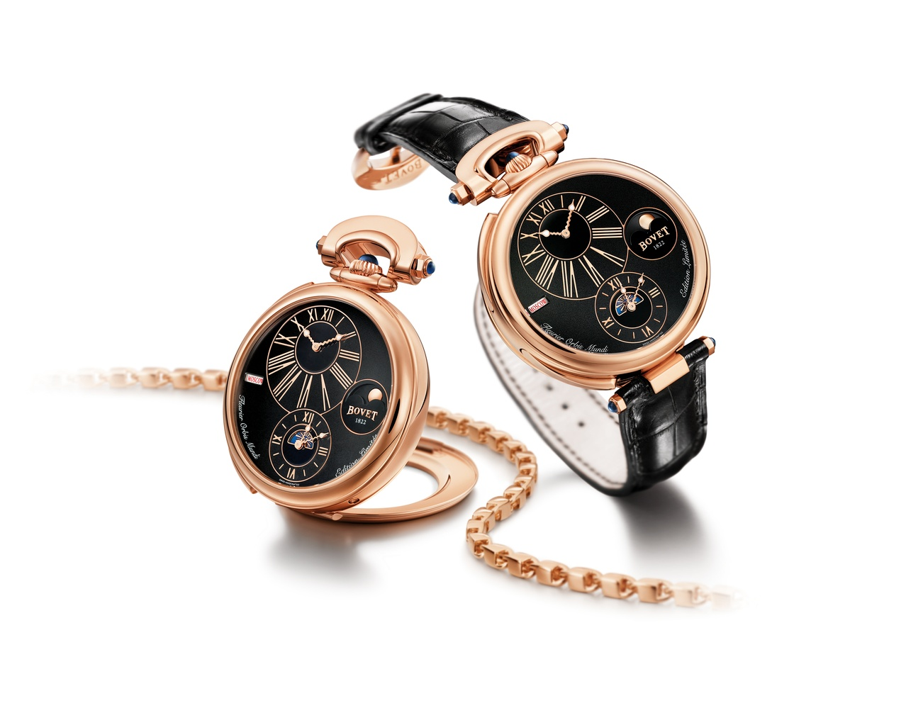 Bovet Watch   Amadeo Fleurier Complications   Ref. Nr.  AFOMP001    Call 312-944-3100  | For Availability