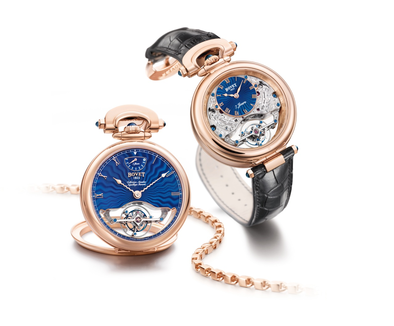 Bovet Watch   Amadeo Fleurier Grandes Complications   Ref. Nr.  AIF0T013-GO    Call 312-944-3100  | For Availability