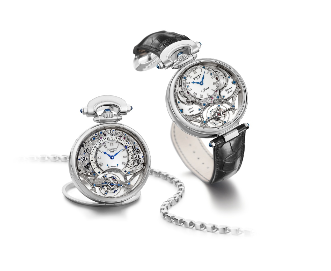 Bovet Watch   Amadeo Fleurier Grandes Complications   Ref. Nr.  AIQPR002    Call 312-944-3100  | For Availability