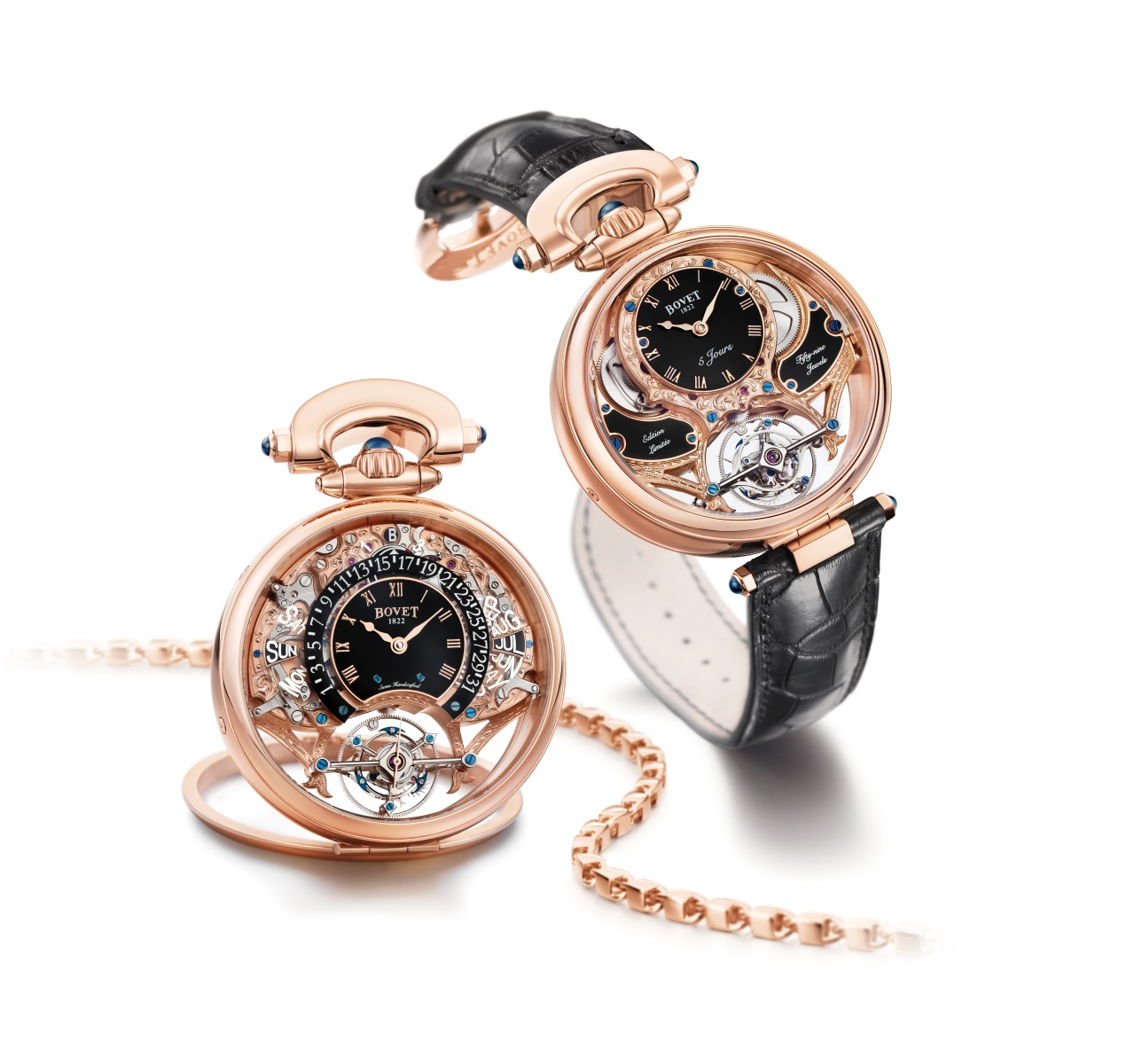Bovet Watch   Amadeo Fleurier Grandes Complications   Ref. Nr.  AIQPR003    Call 312-944-3100  | For Availability