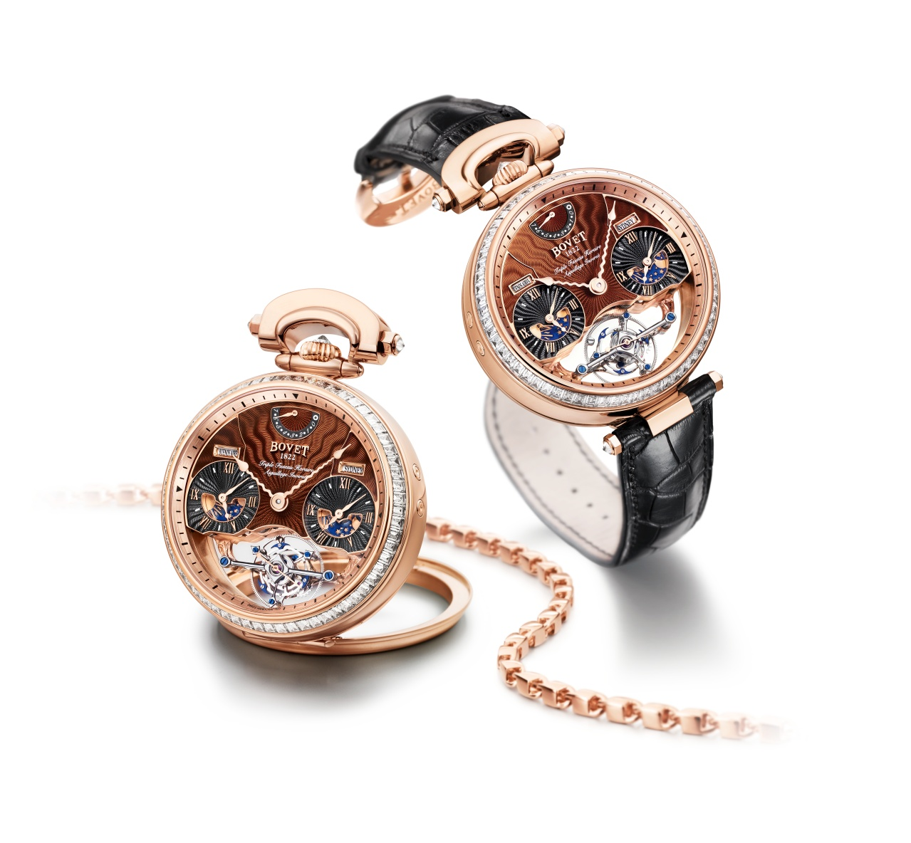 Bovet Watch   Amadeo Fleurier Grandes Complications   Ref. Nr.  AIRS501-SBI    Call 312-944-3100  | For Availability