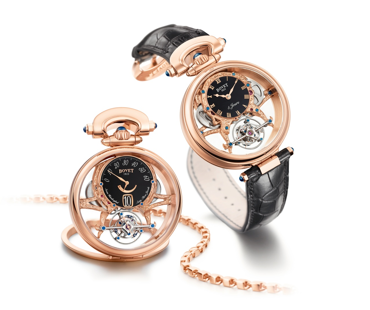 Bovet Watch   Amadeo Fleurier Grandes Complications   Ref. Nr.  AIVI001    Call 312-944-3100  | For Availability