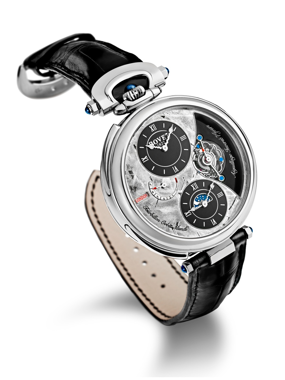 Bovet Watch   Amadeo Fleurier Grandes Complications   Ref. Nr. AIOM004    Call 312-944-3100  | For Availability