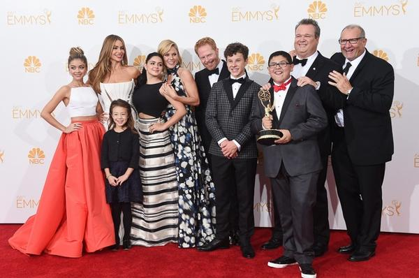 Congratulations to our favorite TV family on their Emmy win. Thank you for always making us laugh. We love you!