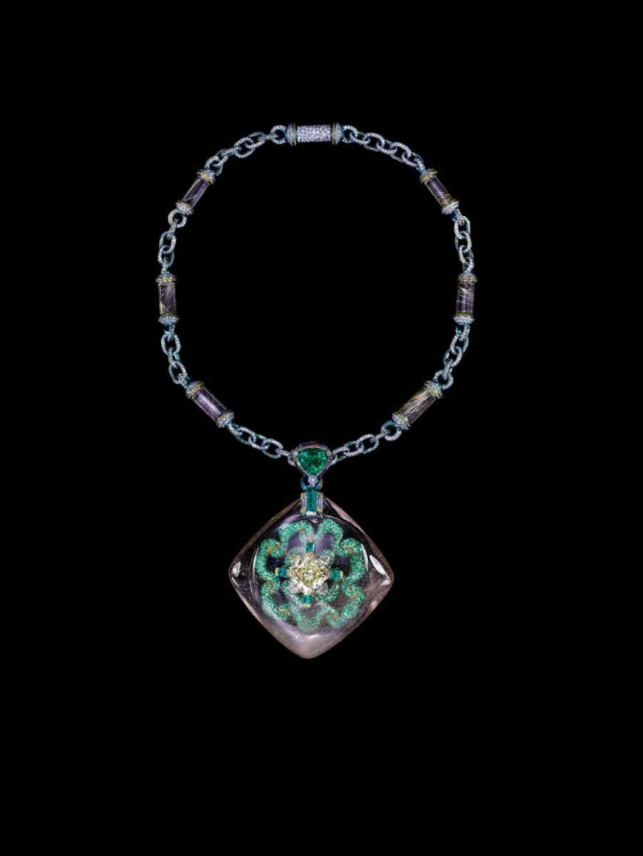Wallace Chan Secret Abyss necklace