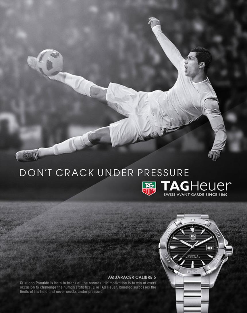 Brand Ambassador: Cristiano Ronaldo