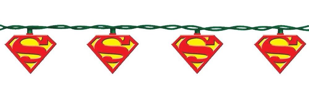 2. Superman 10-Light Light Set - $17.70