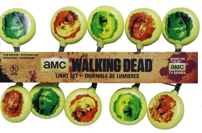 12. 10-Light Walking Dead Light Set - $10.61