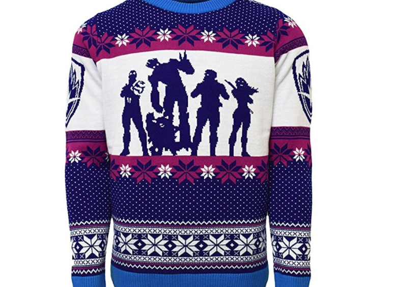 2. Guardians of the Galaxy Christmas Jumper - $49.99