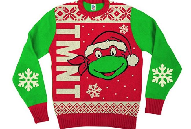 21. Teenage Mutant Ninja Turtles Ugly Christmas Sweater - $29.95
