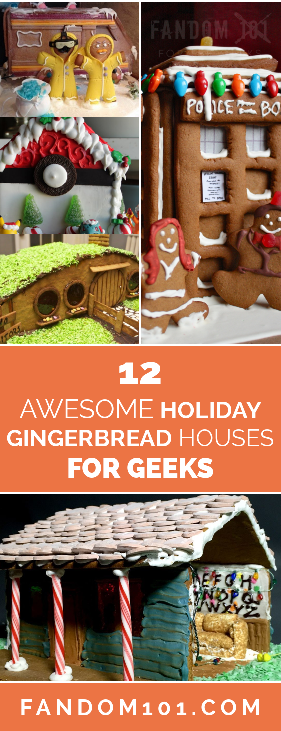 12 Awesome Holiday Gingerbread Houses For Geeks