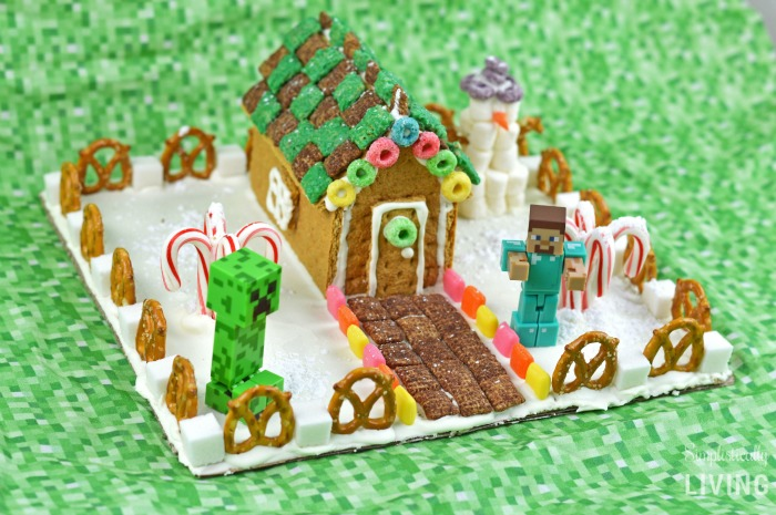 Minecraft Gingerbread House Inspiration