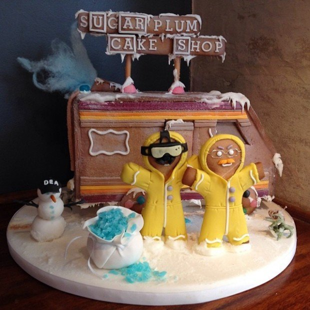 Breaking Bad Themed Gingerbread House Inspiration