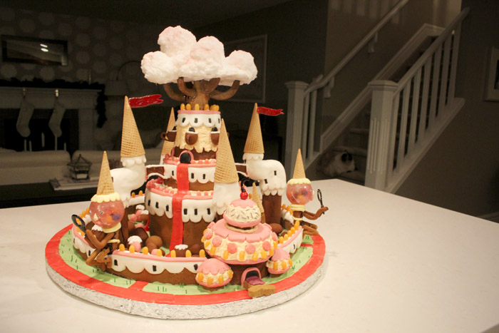 Adventure Time's Candy Kingdom Castle Gingerbread House Inspiration