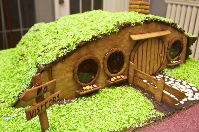 Lord of the Rings the Hobbit Gingerbread House Inspiration