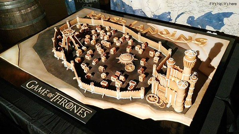 Game of Thrones King's Landing Gingerbread House Inspiration