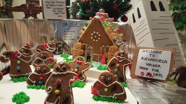 The Walking Dead Gingerbread House Inspiration