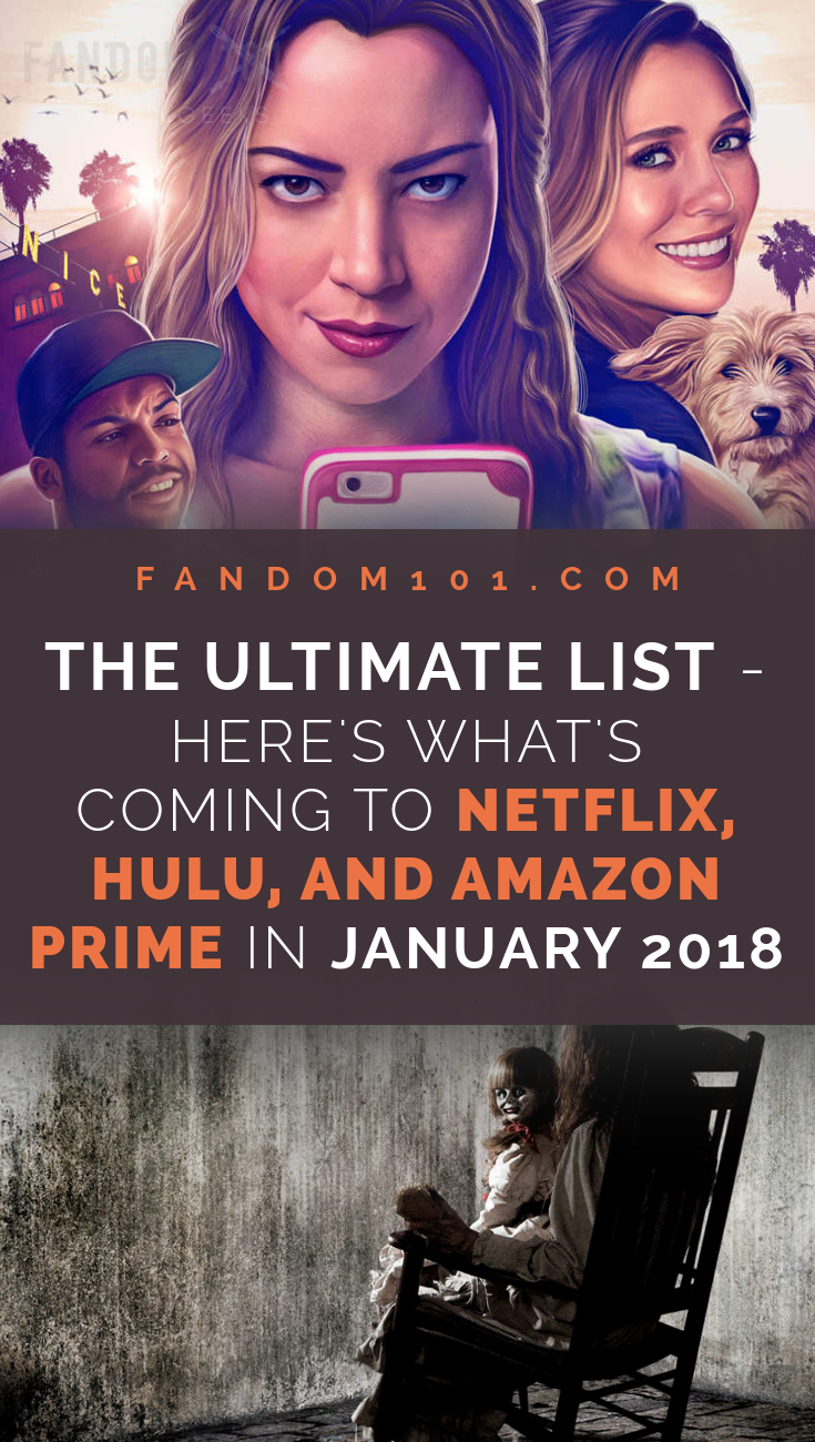The Ultimate List: Here's What's Coming to Netflix, Hulu, and Amazon Prime in December 2017