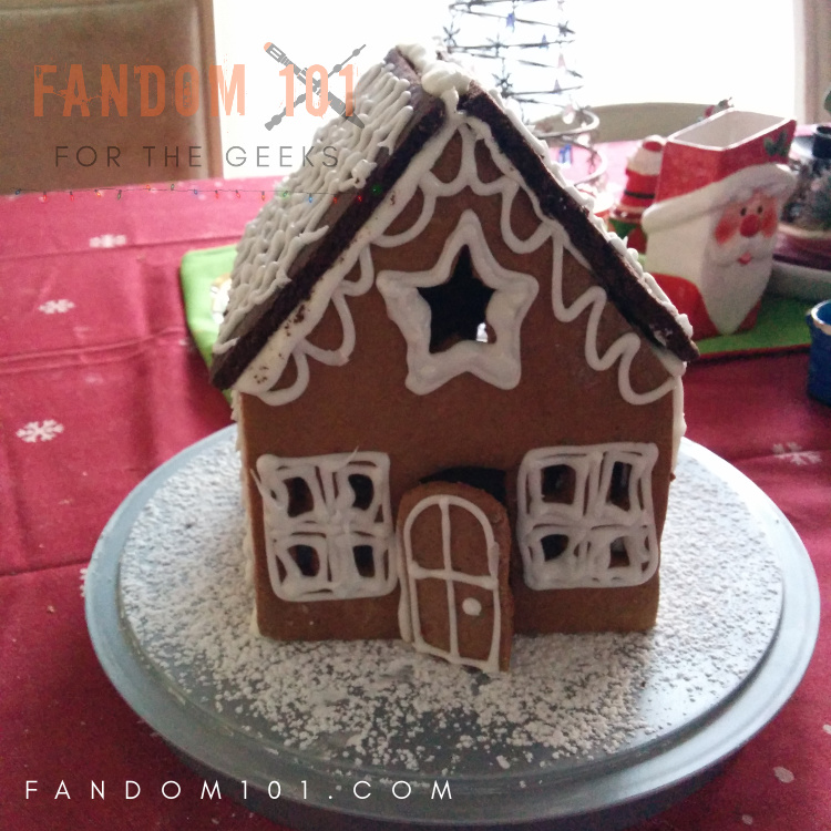 Last Year's Gingerbread House