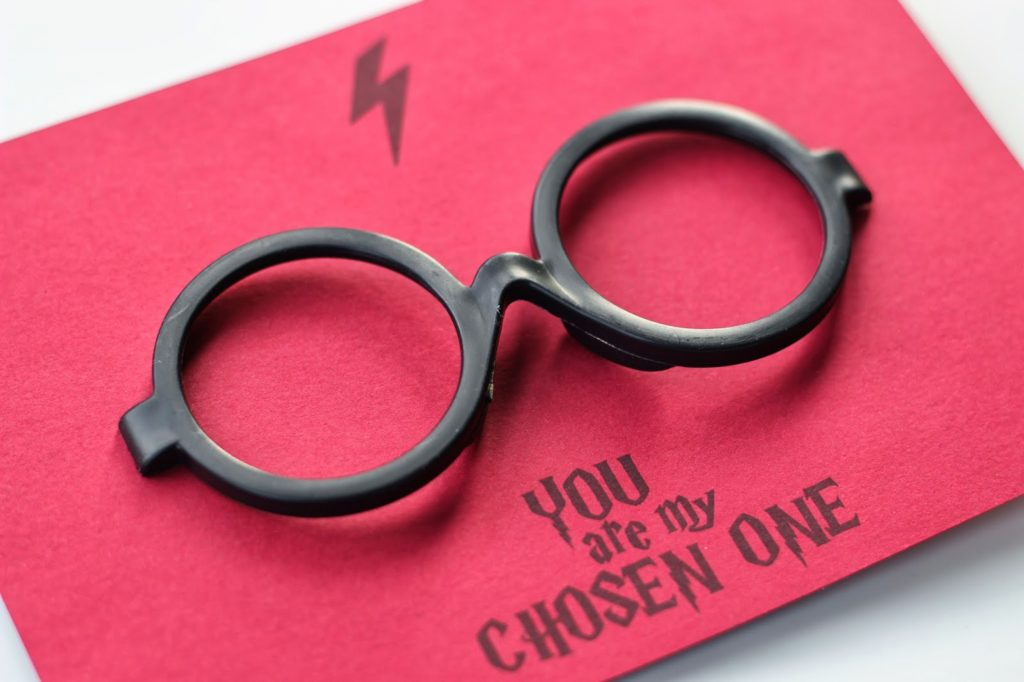 Printable Harry Potter Glasses Valentines