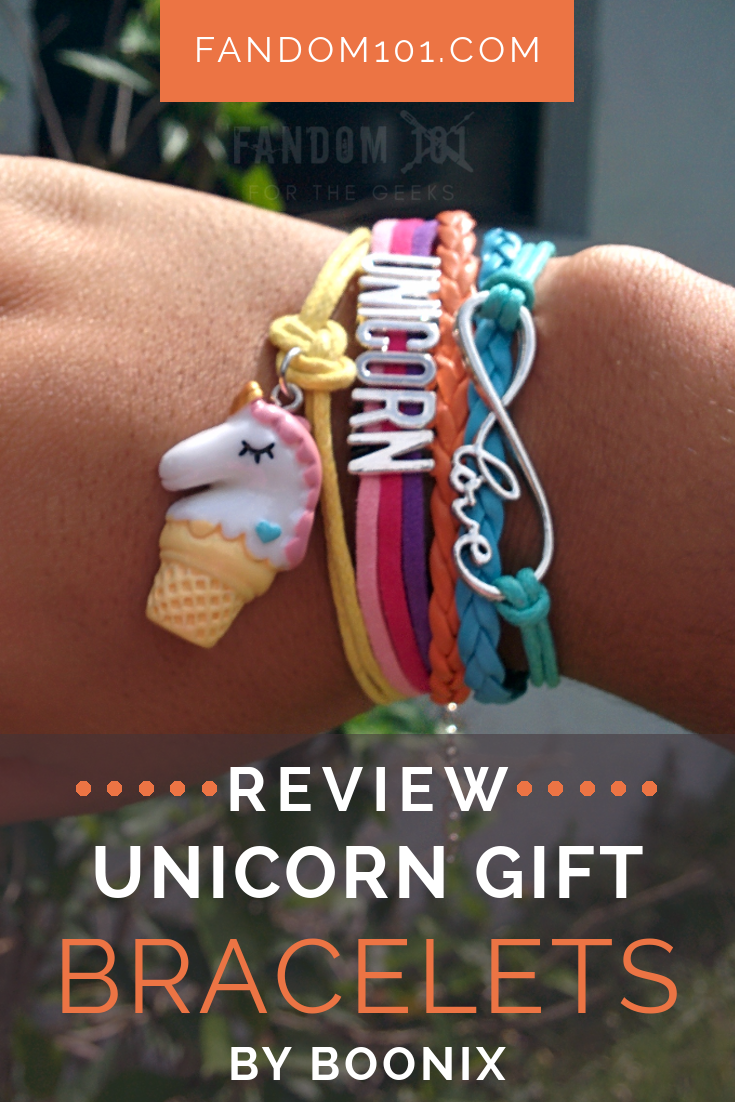 Unicorn Gift Bracelet by Boonix - Review