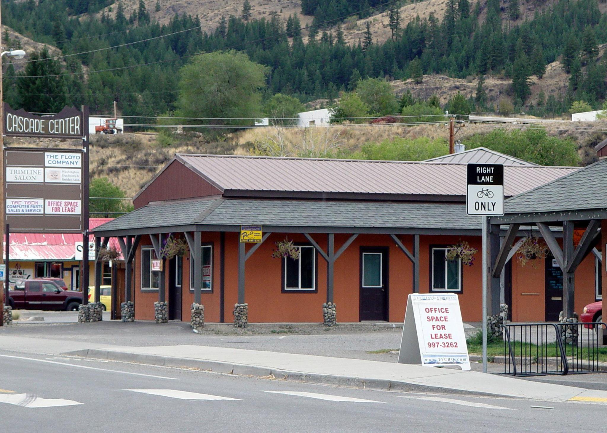 Cascade center. 125 N. Methow valley hwy., twisp, wa 98856