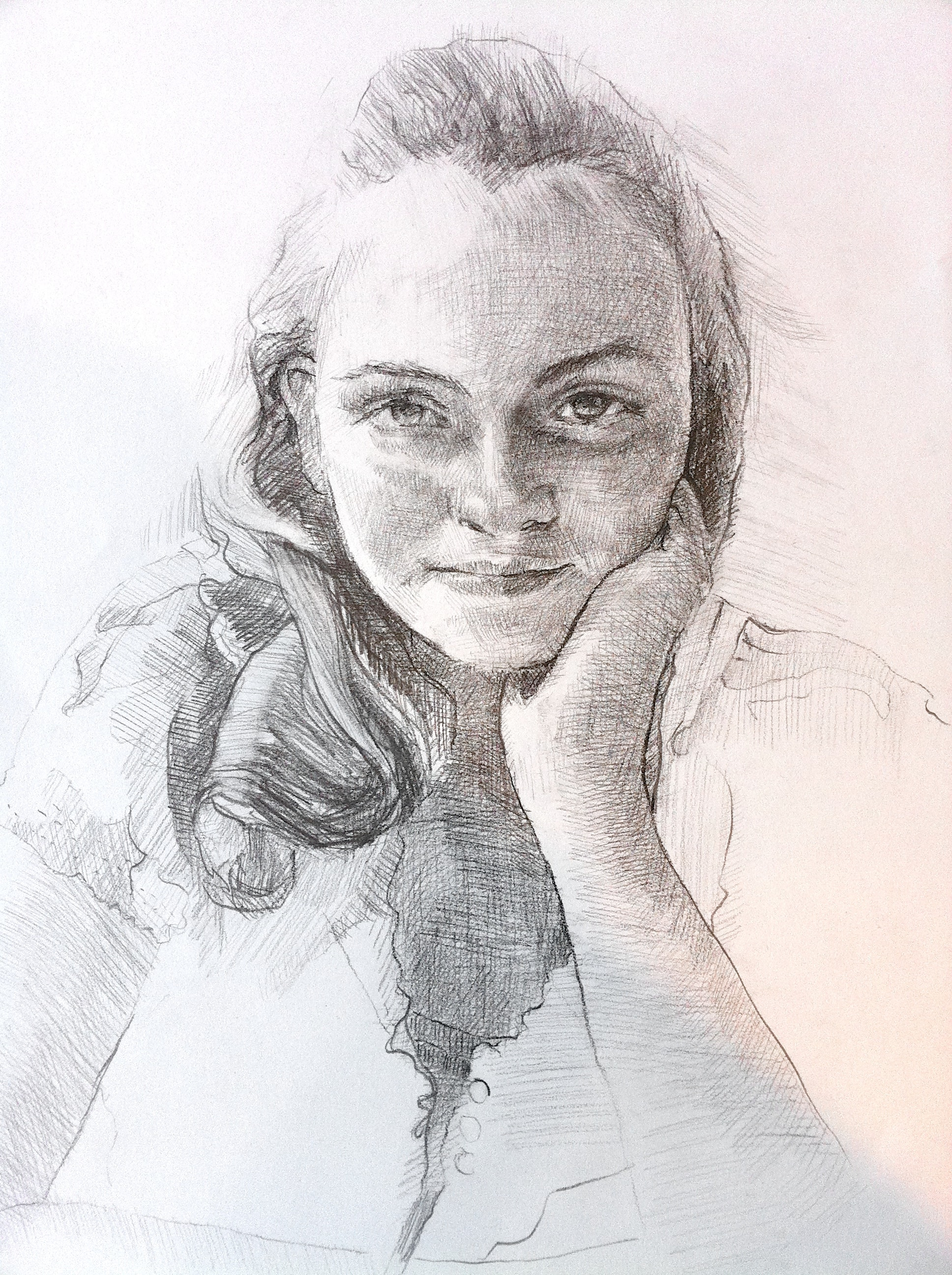 2011, sold  pencil on paper