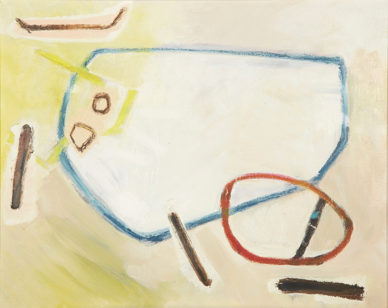 The disassembled cow
