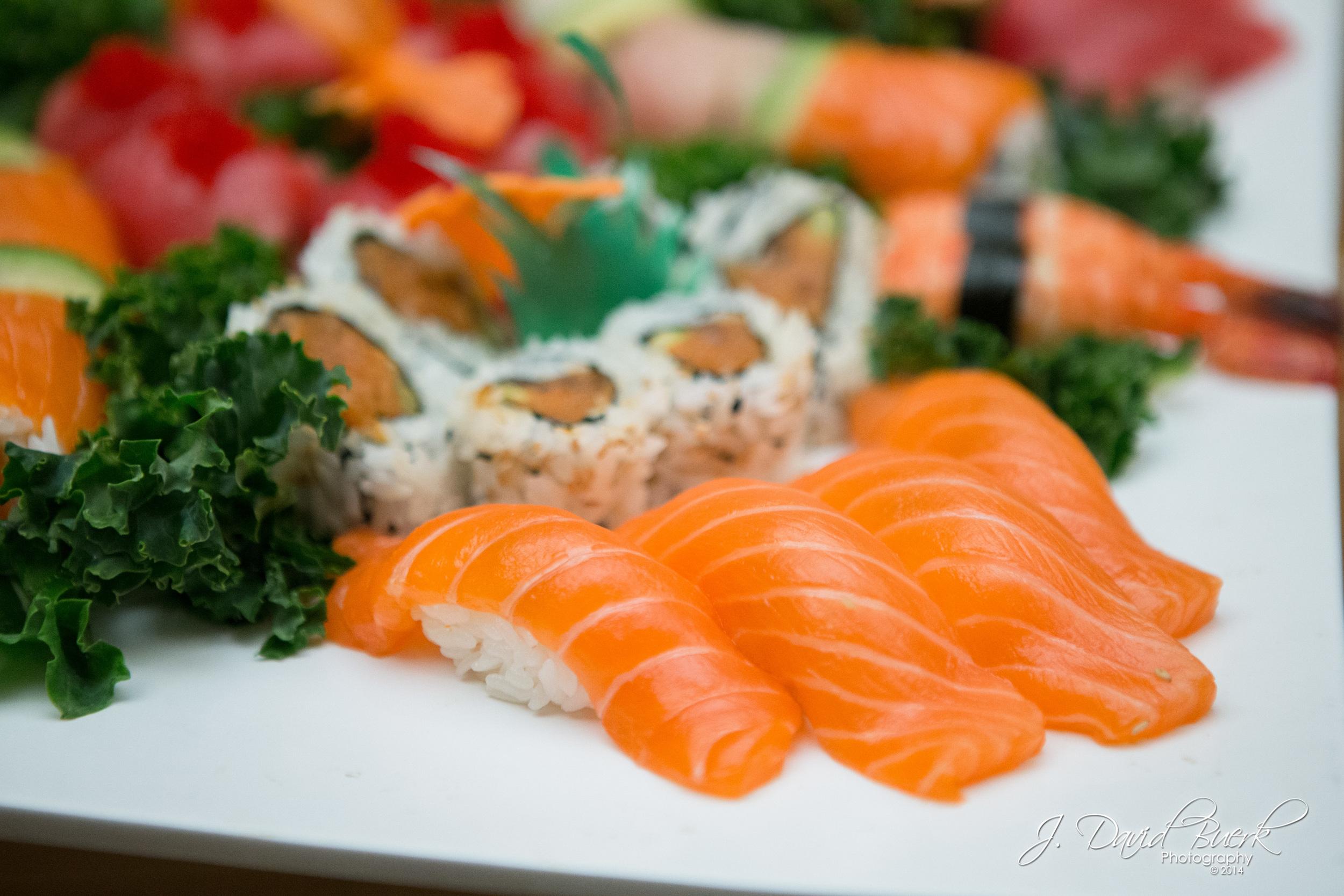 Fresh sushi.