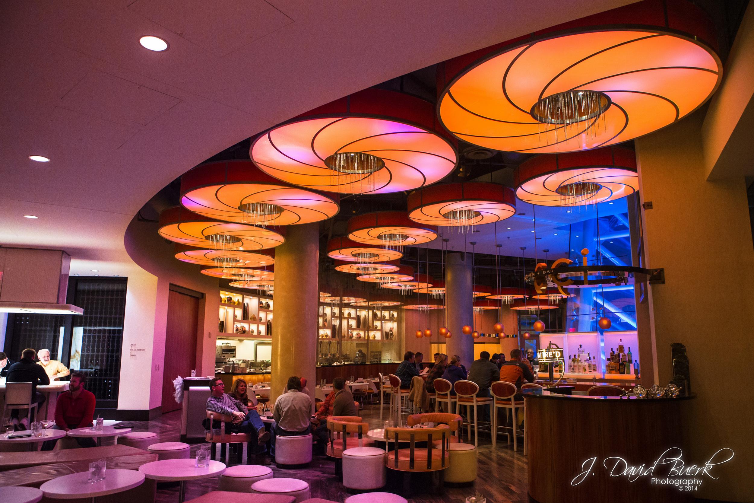 The bar at Arlington, Virginia'sRenaissance Arlington Capital View Hotel.