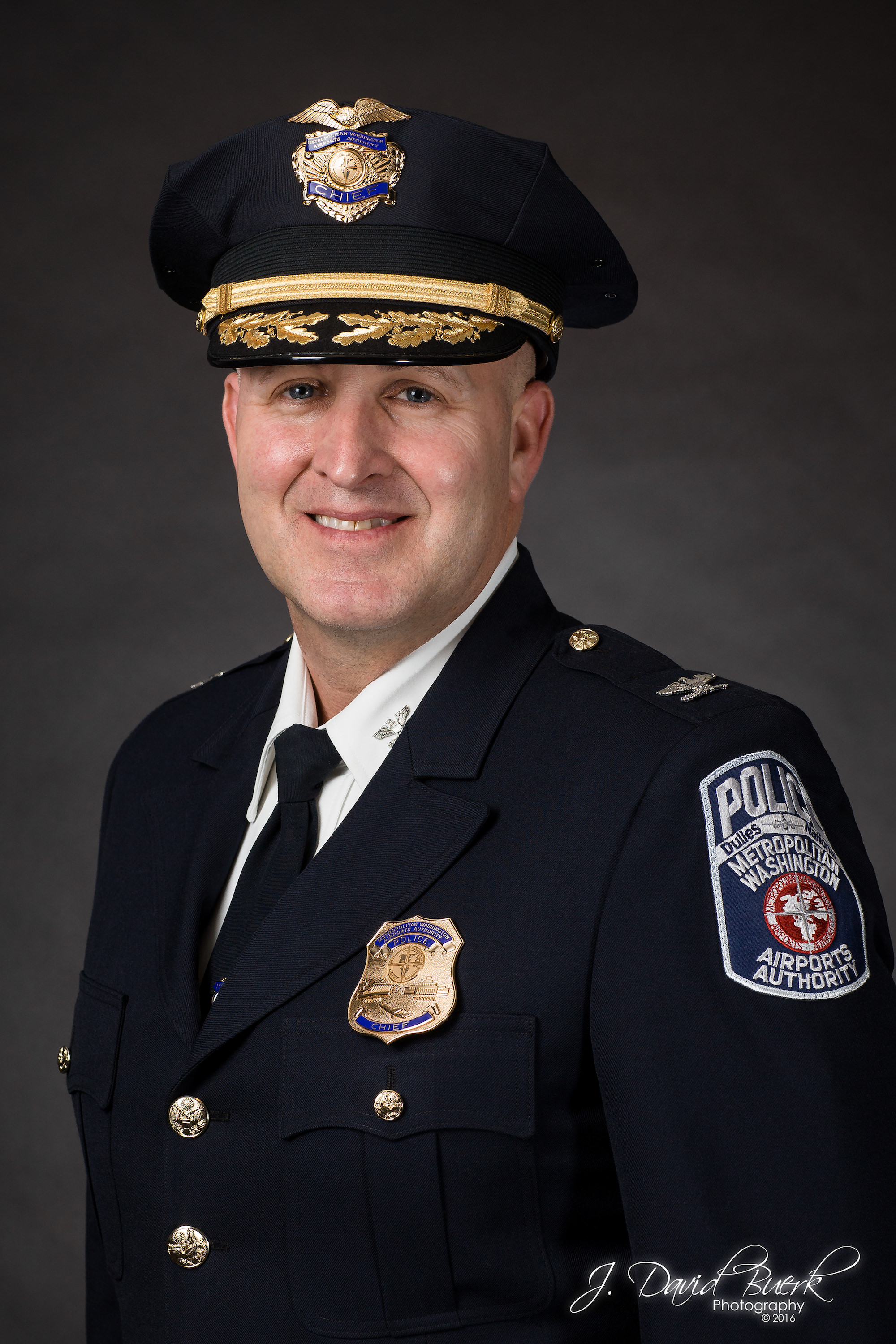 Portrait of Scott C. Booth, Metropolitan Washington Airports Authority Chief of Police.