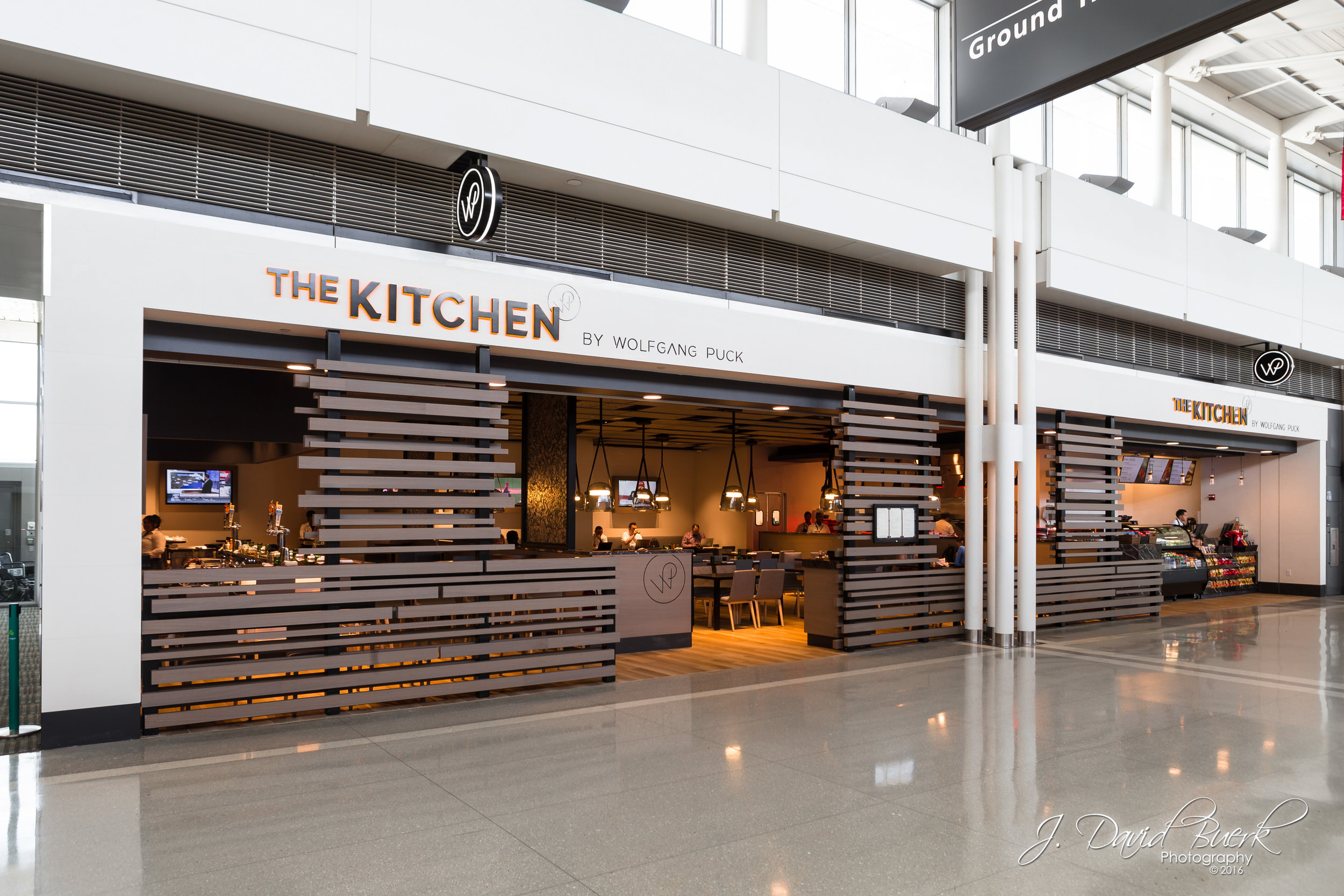 The Kitchen by Wolfgang Puck; a new restaurant offering at Washington Dulles International Airport.  Much of my work, many of which goes undisplayed on my website, is photographing commercial marketing imagery of concessions and products for the DC area's two airports.