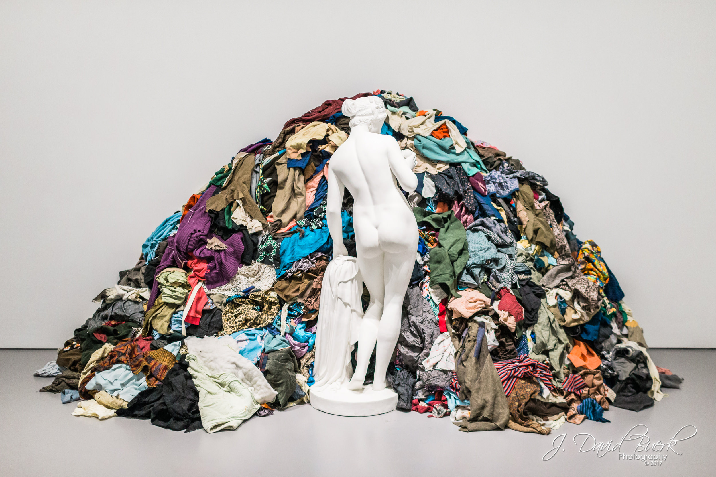 "Michaelangelo Pistoletto's ""Venus of the Rags"" on display at the Smithsonian's Hirshorn Museum."