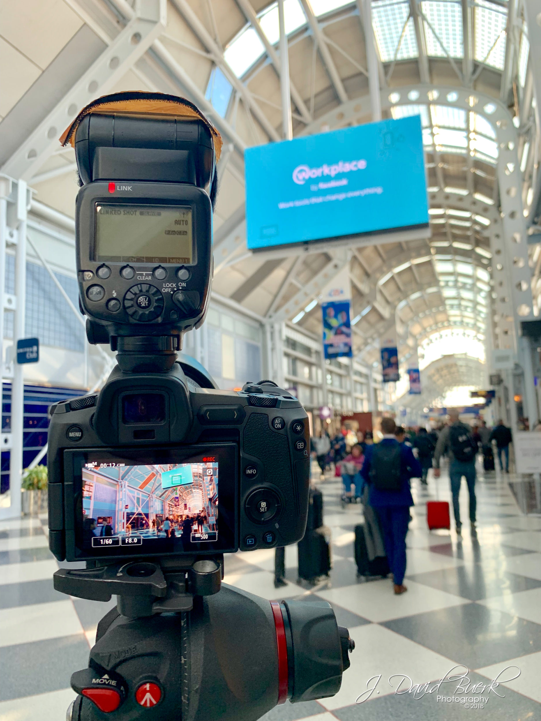 My first photoshoot with Canon's new EOS R mirrorless full-frame camera, in Chicago O'Hare International Airport. Shot and edited entirely on iPhone XS.