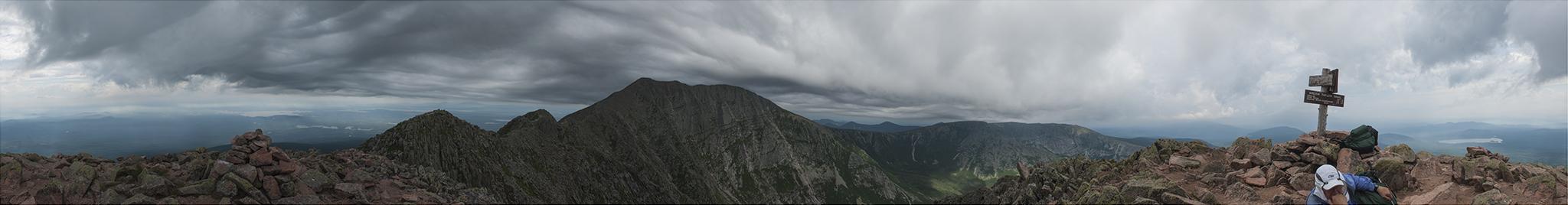 Mt Katahdin from Pamola Peak