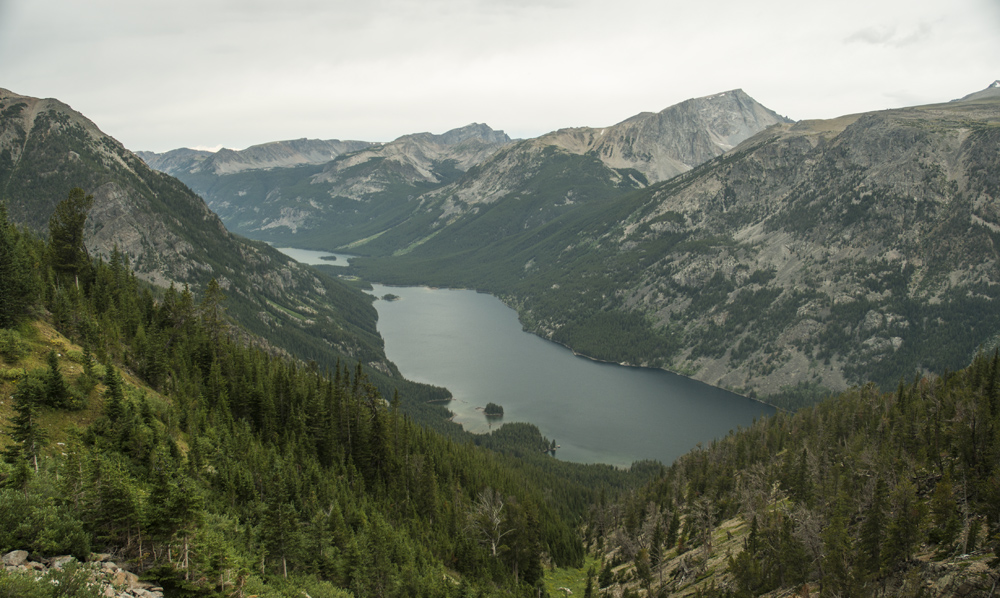 Mystic Lake from the Switchbacks