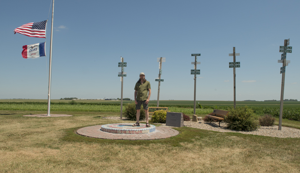 Standing atop Hawkeye Point