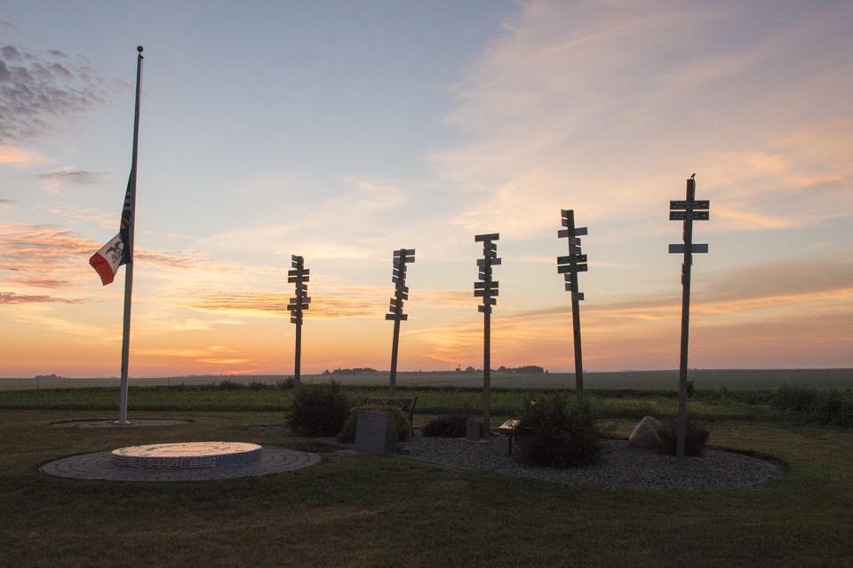 Hawkeye Point at sunrise