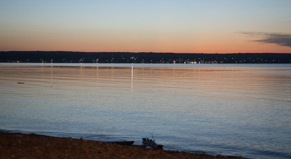 Keweenaw Bay at L'Anse, Michigan