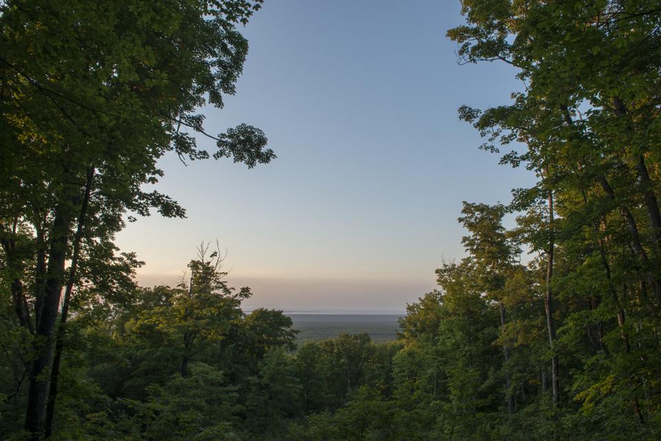 View from Mount Arvon