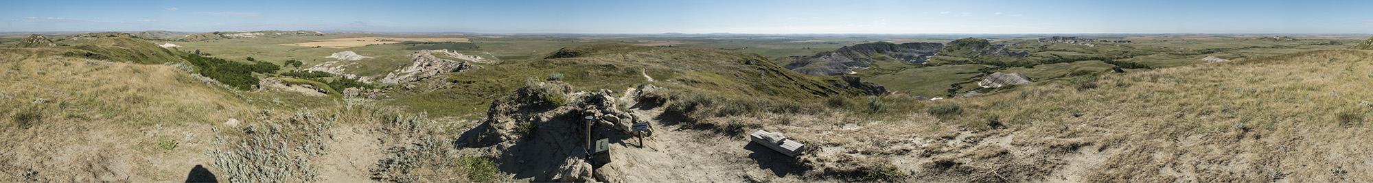 White Butte, highpoint of North Dakota.
