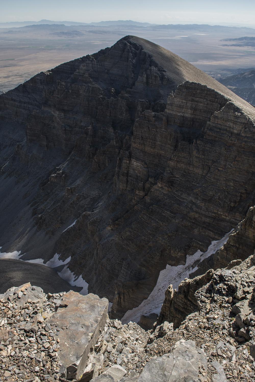 View of Jeff Davis Peak from the summit