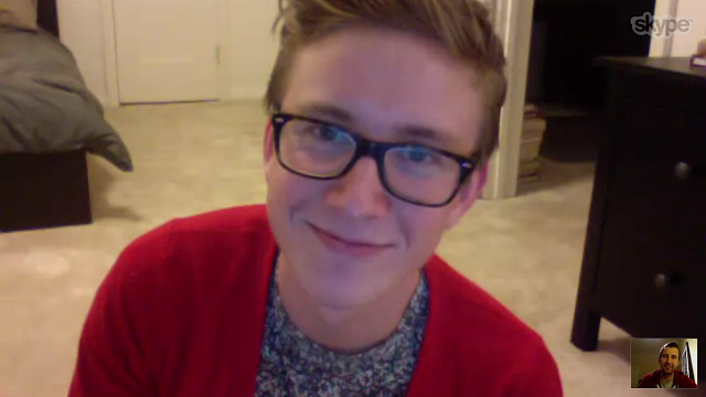 YouTube star Tyler Oakley and I discussed the positive impact his weekly web videos are making on LGBTQ youth via Skype recently.