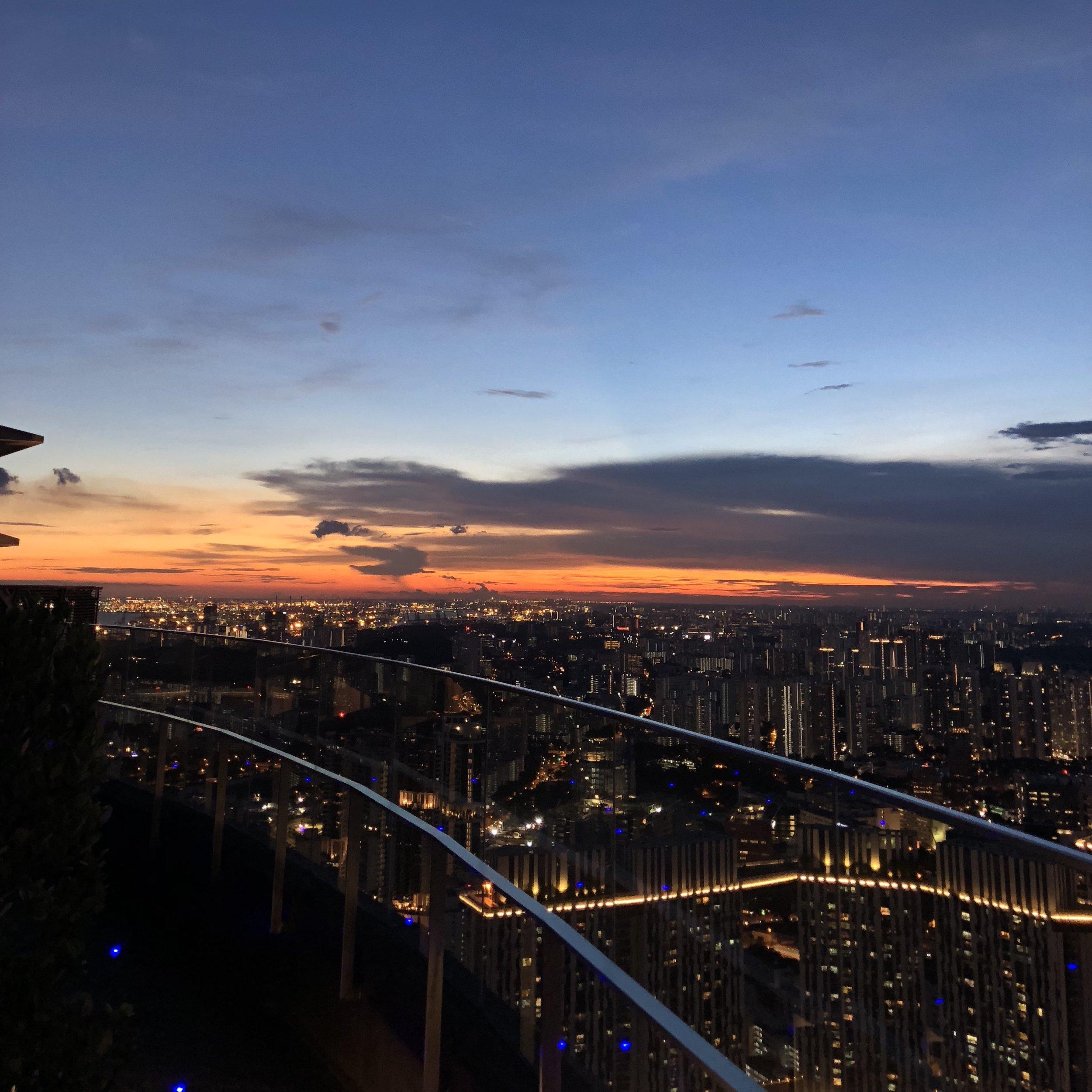Sundown in Singapore.JPG