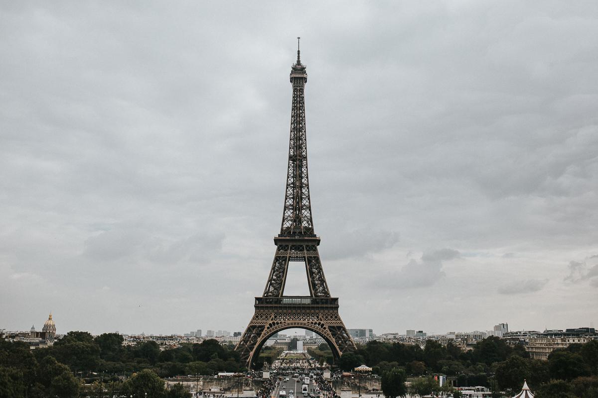 Paris France destination elopement wedding photographer Calgary Alberta Eiffel Tower