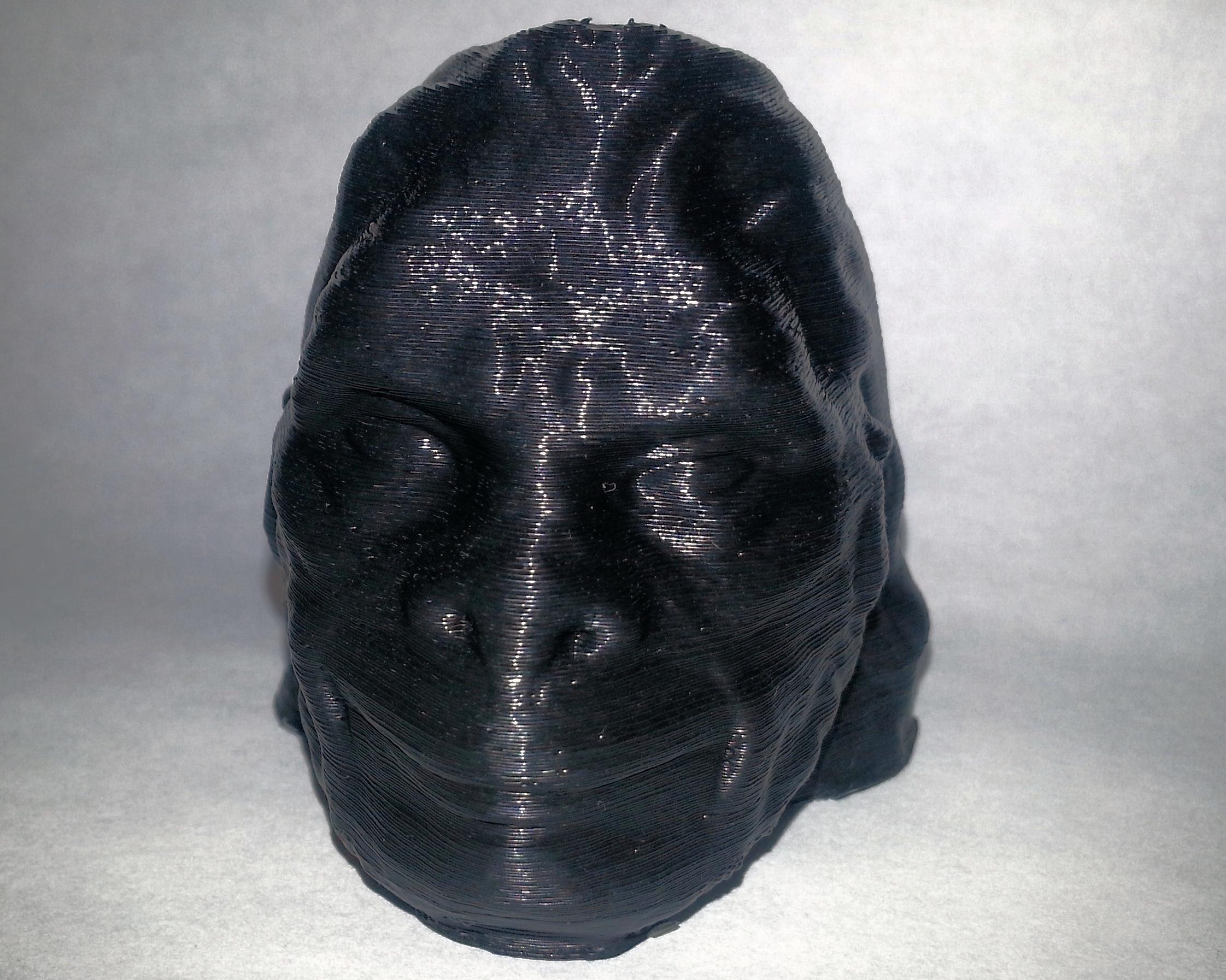 Makergear Gorilla Head  Makergear M2 - 0.2mm layers - Black PLA