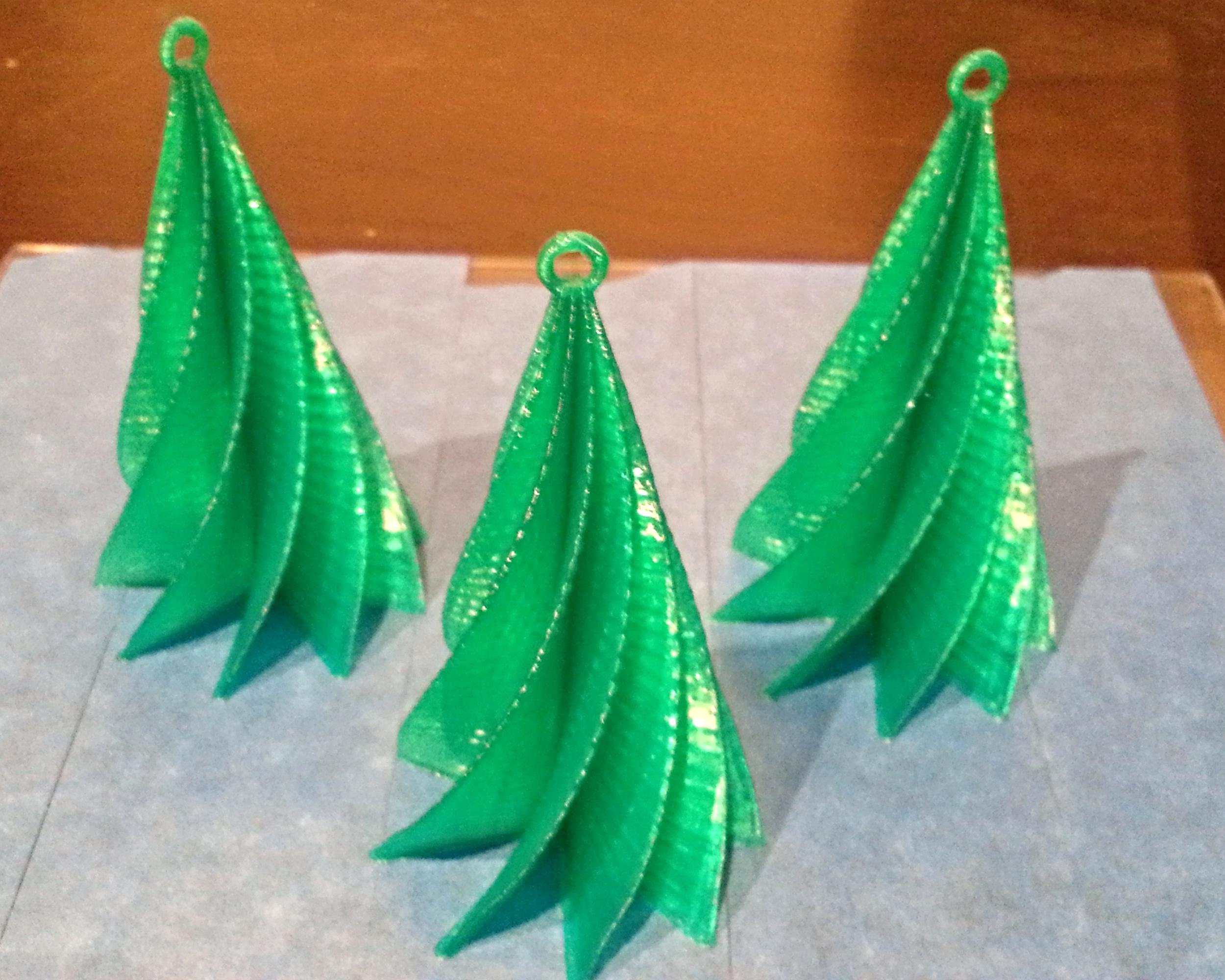 Customized X-Mas Tree Ornaments